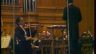 Leonid Kogan plays Shostakovich Violin Concerto no. 1 - video 1976