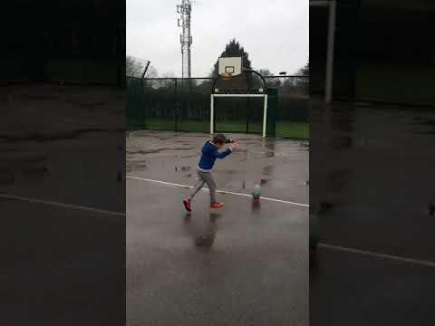 6-летний мальчик - будущая спортивная звезда