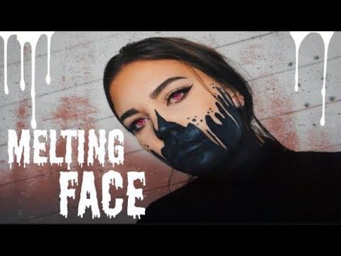 MELTING FACE - HALLOWEEN MAKEUP