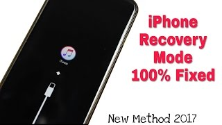Fixed Recovery Mode In iPhone || Loop iTunes logo || Desabled iphone 100% Solution 2020