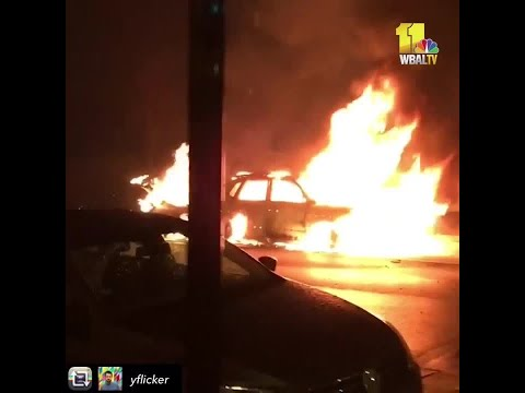 9 Cars Set On Fire In Mount Vernon