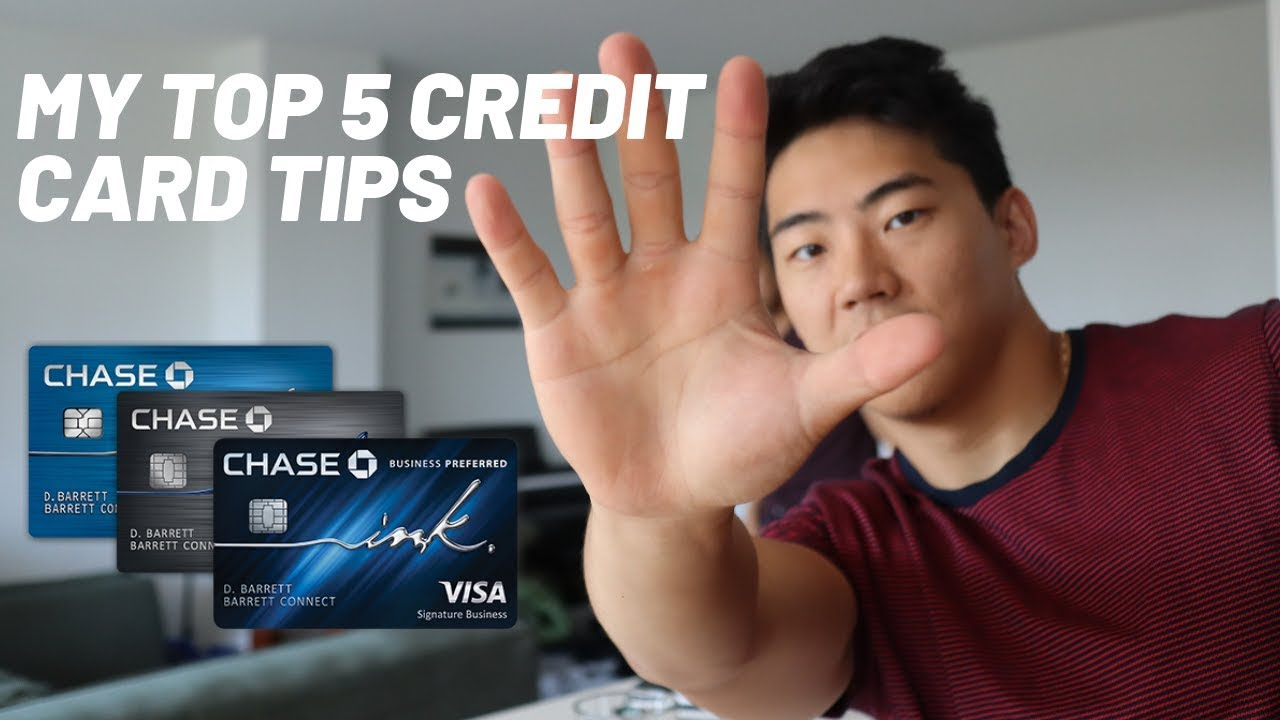 MY TOP 5 CREDIT CARD TIPS YOU NEED TO KNOW
