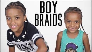 BRAIDS For KIDS - Braiding My Nephews Hair!!
