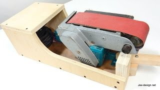 Belt Sander Stand  Can Sit In 3 Positions