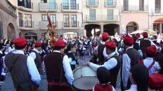 preview picture of video 'Colla de Pagès de Cardona - Ball de la bandera 2013'