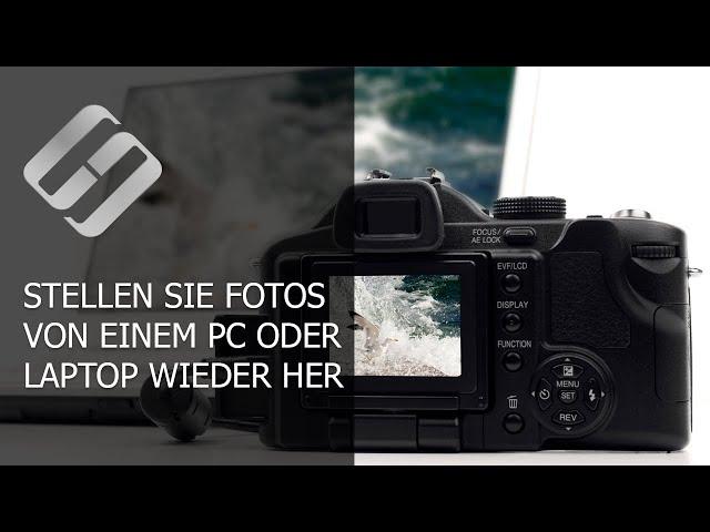 Wiederherstellen von Fotos von der Festplatte eines PC oder Laptop nach dem Löschen