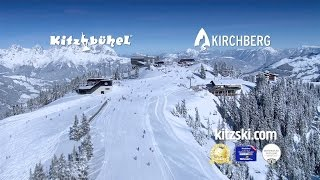 Mooie impressie wintersport Kitzbühel