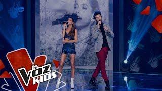 Yatra y Tini cantan Cristina | Yatra y Sus Amigos | La Voz Kids Colombia 2019