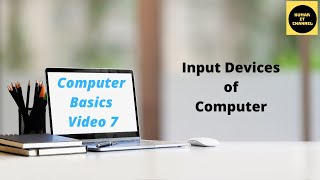 Computer Basic Tutorial Part 7 different input devices of computer