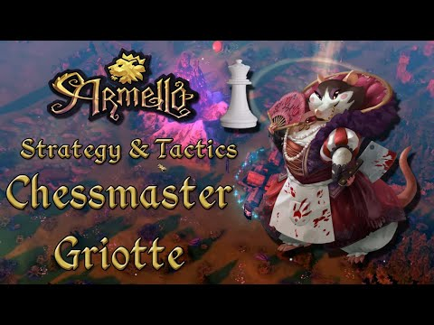 Armello Strategy & Tactics: Chessmaster Griotte (Public Multiplayer)