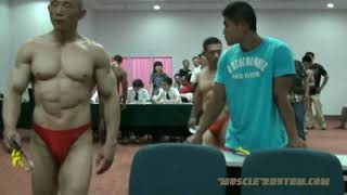 2009 Chinese National Bodybuilding Weigh-ins