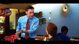 A waiter is rude and dismissive to a deaf man at a restaurant | WWYD