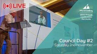 World Sailing: Day 2 of the Council meeting is live from Bermuda; listen to an organization fiddling