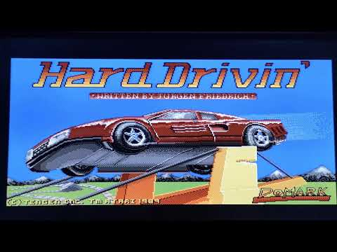 Hard drivin played on the zx spectrum, Amiga, megadrive and Xbox.