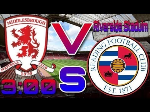 Middlesbrough V Reading Vlog, Drama in the dugouts