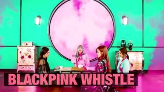 BLACKPINK WHISTLE Japanese ver : Lisa Rap in English