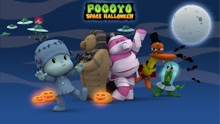 Pocoyo Space Halloween 2015  40 Minutes Of Spooky Adventures For Kids