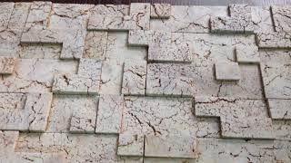 КИРПИЧ ТЕТРИС. Полиуретановая форма для гипса/бетона. Толщина плитки 14 мм. от компании ООО Зикам - видео