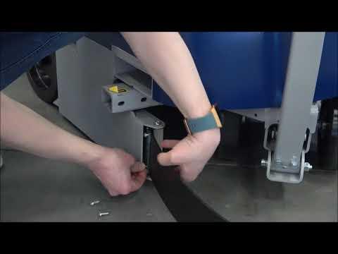 CSM 211 / 212 / 213: Attaching the bumper