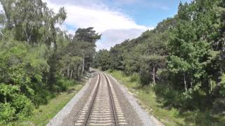 preview picture of video 'Odcinek Władysławowo - HEL z tyłu pociągu TLK Rozewie'