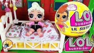 Мультик Куклы ЛОЛ подарили СЮРПРИЗ СЕСТРИЧКУ! LoL Surprise & Lil Sisters Обзор игрушек для девочек