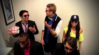 Pentatonix - Gangnam Style Bloopers!!