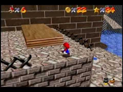 Super Mario 64 Walkthrough - Part 18 - Dire, Dire Docks and