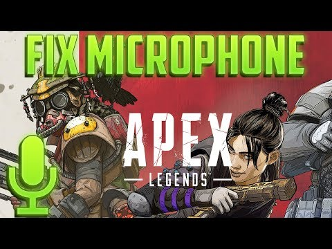 Apex Legends Voice Chat or Microphone Not Working PC
