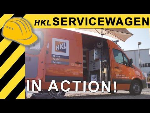 HKL Servicewagen im Einsatz - NordBau 2016 -  4K UHD
