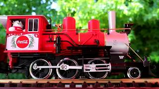 Jim Zim has a Coke delivered by steam train!