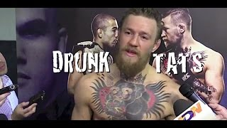 Conor McGregor Explains Being Drunk and Getting a Tattoo