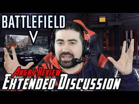 Battlefield V Angry Extended Review Discussion [Tides of War Update] - YouTube video thumbnail