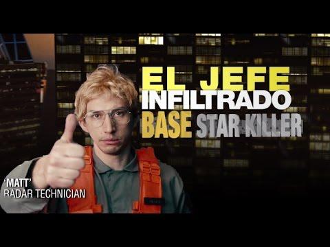 El jefe infitrado -Kylo Ren Base Star Killer (видео)