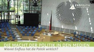 Die Macht der Politik in den Medien – Wieviel Einfluss hat die Politik wirklich?