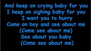 Martina McBride - Come See About Me lyrics