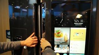 Family Hub Refrigerator: Samsung presenta el refrigerador del futuro