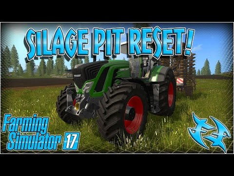 Silage pit reset fill level - Video :: Farming Simulator 17