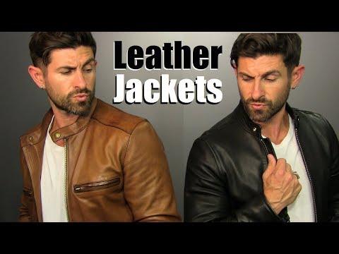 Where To Buy BADASS Leather Jackets This Season & 4 BADASS Ways To Wear Them!
