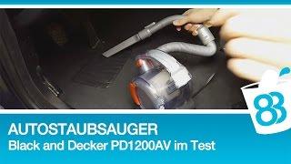 Autostaubsauger Black and Decker PD1200AV im Test AUTO INNENRAUM AUFBEREITUNG