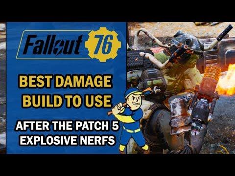 Fallout 76 | Insane 10,000+ Rifle Damage Build For