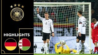 Stunning Goals by Ginter & Kroos | Germany vs. Belarus 4-0 | Highlights | Euro Qualifier