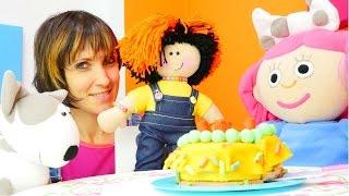 Игры для девочек 🍰 торт для #куклы Маши и Смарты. Маша #КапукиКануки и передача Супер План Серия1