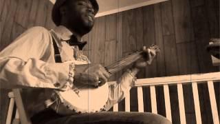 "Cedric Watson gourd Banjo ""Oh Molly Dear"""
