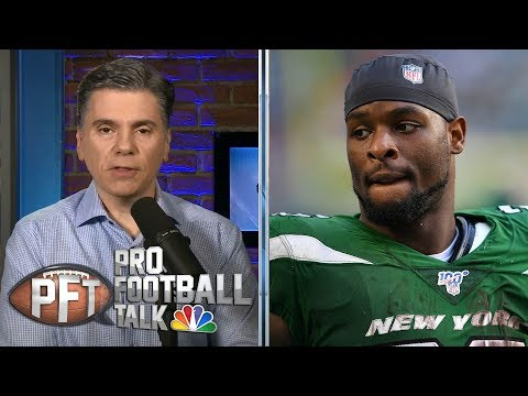 Le'Veon Bell on how he handled trade rumors (FULL INTERVIEW) | Pro Football Talk | NBC Sports