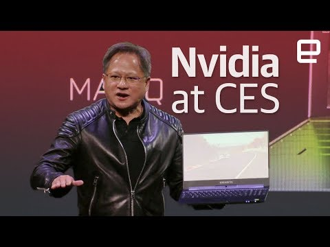NVIDIA's CES 2018 event in less than 10 minutes (видео)