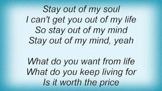 Dio - Stay Out Of My Mind Lyrics