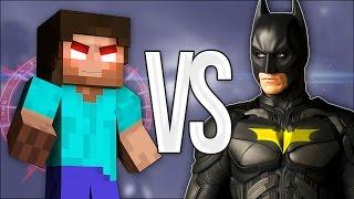 ХИРОБРИН VS БЭТМЕН | СУПЕР РЭП БИТВА | Batman Против Herobrine Minecraft