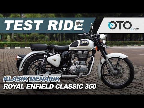 Test Ride: Royal Enfield Classic 350 l OTO com