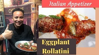 How To Make Eggplant Rollatini – Quick & Easy Italian Appetizer Recipe Under 10 Minutes
