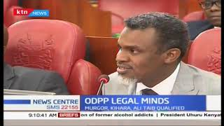 DPP Noordin Haji wants Parliament to enact law on state officers implicated in corruption